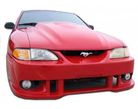 Ford Mustang  BW Spec Style 1 Pc Poly Front Bumper 1999-04