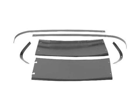 Ford Mustang Quarter Panel Trim Set - 6 Pieces - Fastback