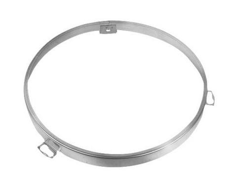 Ford Mustang Headlight Bulb Retaining Ring - Right Or Left - For Single Headlight - Reproduction