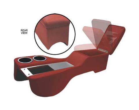 Ford Mustang Humphugger Cruiser Console - Convertible - Dark Red