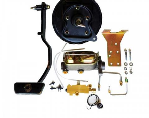 Ford Mustang - 1967-70 Ford Mustang Booster/Master Combo Kit)