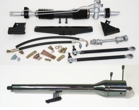 Mustang Manual Rack and Pinion Conversion Kit, 1964-1970