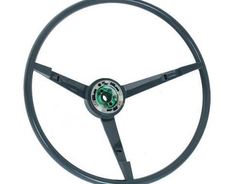 Ford Mustang Steering Wheel - 3 Spoke - Dark Blue - For CarWith An Alternator