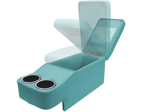 Ford Mustang Saddle Console - Coupe & Fastback & Convertible - Turquoise