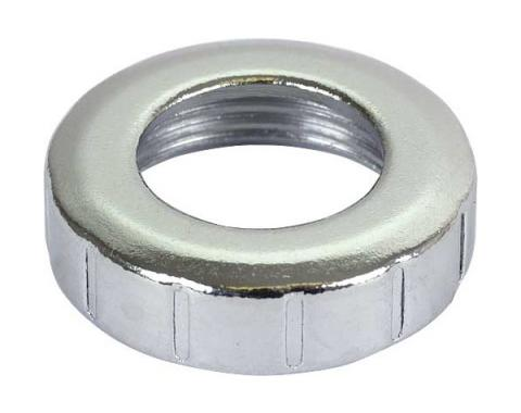 Remote Control Mirror Knob Retaining Nut - Chrome - Comet