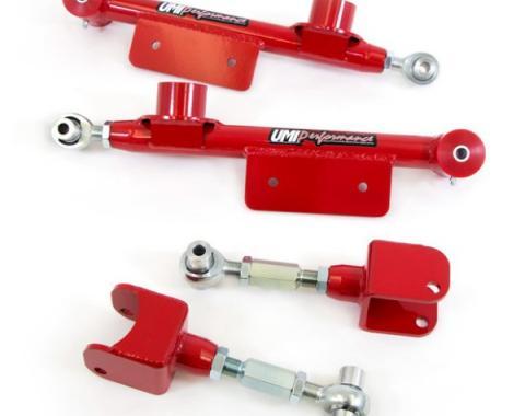 UMI Performance Upper/Lower Adjustable Control Arm Kit | 1014-B Mustang 1999-2004