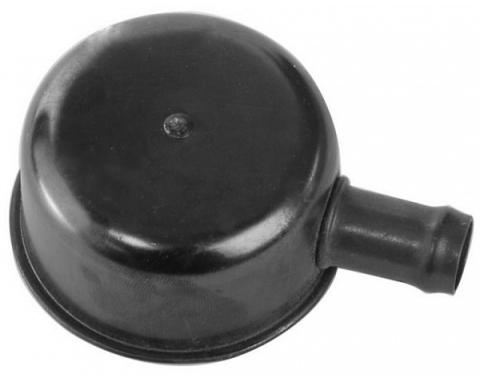 Oil Filler Breather Cap - Push-On Type - Painted - With Spout - 390 V8