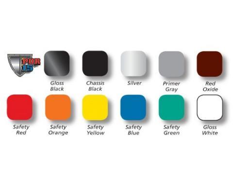 POR-15® Top Coat Paint, Pint, Assorted Colors
