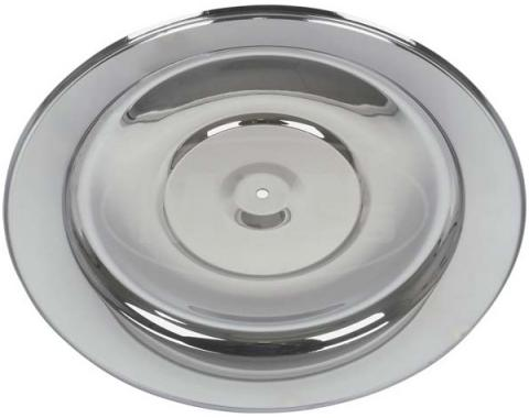 Ford Mustang Air Cleaner Top - Stainless Steel - Fits the HiPo Air Cleaner