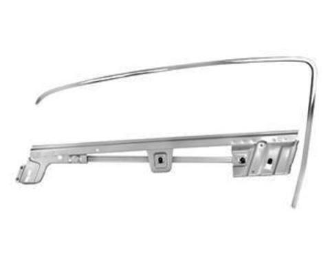 Door Glass Frame Kit / Left / Fastback