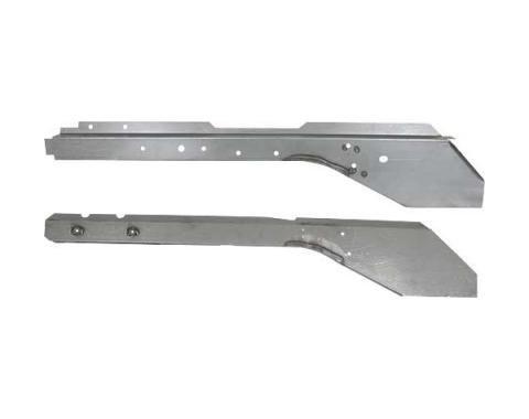 Ford Mustang Front Frame Rail - Right - Full Length Outer &Inner