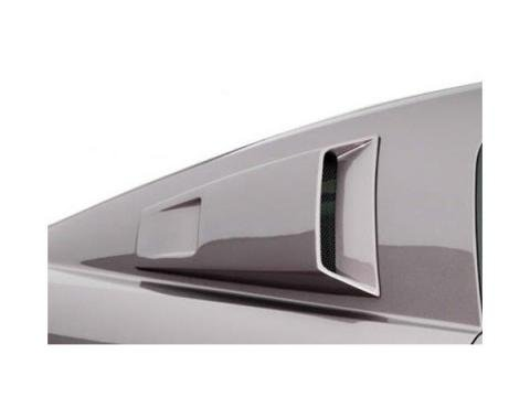Ford Mustang K Spec Style 2 Pc Poly Window Scoops 2005-09