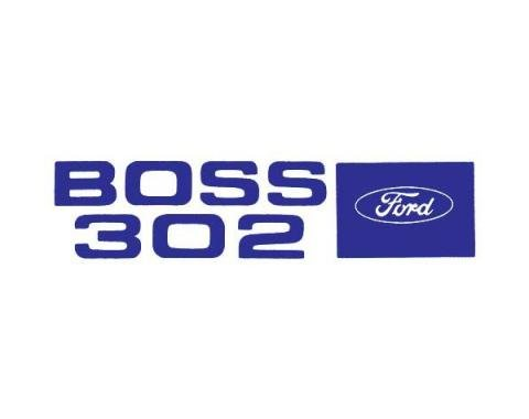 Ford Mustang Decal - Valve Cover - Boss 302