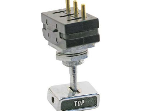Daniel Carpenter Ford Mustang Convertible Power Top Switch - Includes Die-Cast Knob C9ZZ-15668