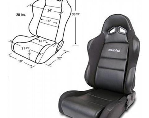 Mustang Bucket Seat, Sportsman Series, Right