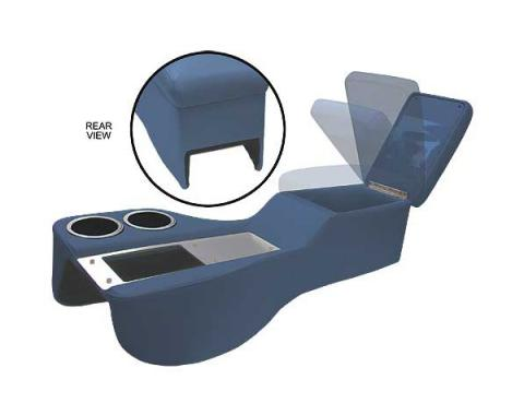 Ford Mustang Saddle Cruiser Console - Coupe & Fastback & Convertible - Dark Blue