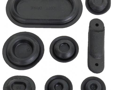 Ford Mustang Rubber Grommet Kit - 28 Pieces