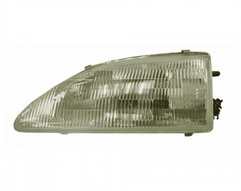 Mustang Head Lamp R/H (LHD) E 1994-98