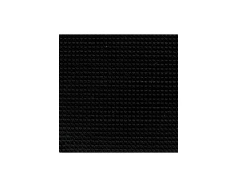 Ford Mustang Convertible Top Kit - Black #CV21 On Black - No Rear Curtain - No Rear Window