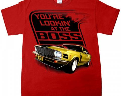 "Mustang ""The Boss"" Youth T-Shirt"