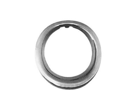 Ford Mustang Exhaust Tip Trim Ring - Stainless Steel - For GT With Exhaust Holes In Rear Valance