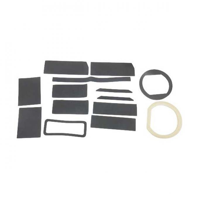 Daniel Carpenter Ford Mustang Heater Seal & Gasket Set - For Cars With Factory Air Conditioning C7ZZ-18500