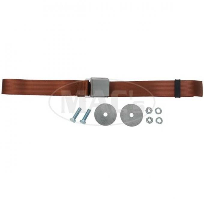 "Seatbelt Solutions Universal Lap Belt, 74"" with Chrome Lift Latch 1800743004 