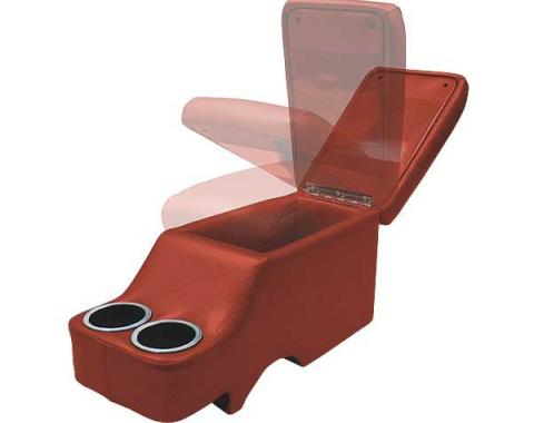 Ford Mustang Humphugger Console - Convertible - Red
