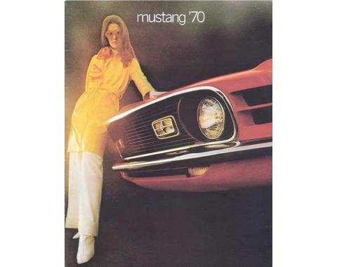 Mustang Color Sales Brochure - 16 Pages - 32 Illustrations