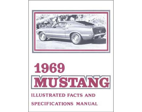 Mustang Illustrated Facts And Specifications Manual - 35 Pages