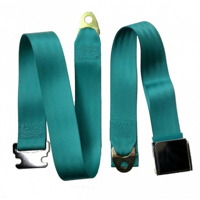 "Seatbelt Solutions Universal Lap Belt, 74"" with Chrome Lift Latch 1800744009 