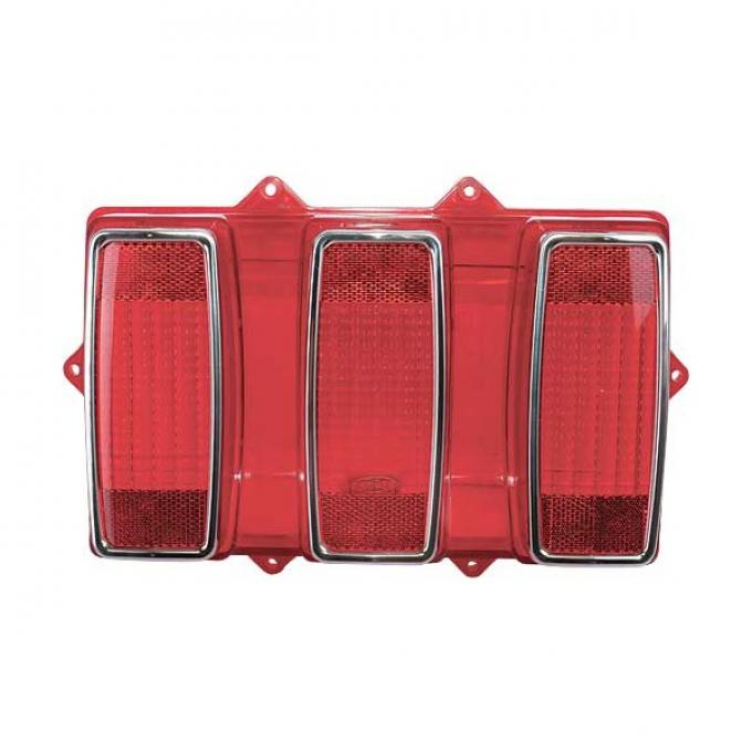 Daniel Carpenter Ford Mustang Tail Light Lens - Red - All Models Except Shelby GT350 Or GT500 C9ZZ-13450