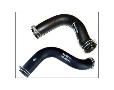 Ford Mustang Radiator Hose Set - 2 Hoses - Script - 302 Or Boss 302 Or 351W V-8