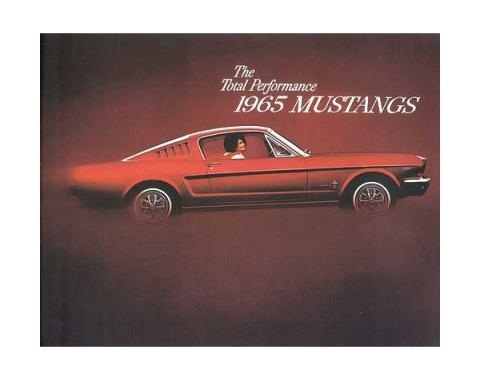 Mustang Color Sales Brochure - 16 Pages - 38 Illustrations