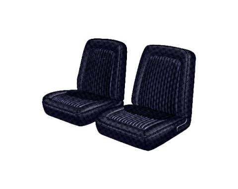 Distinctive Industries 1968 Mustang Standard Front Bucket Seat Upholstery 068361