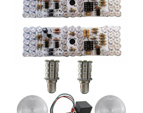 Mustang Sequential LED Tail Light Kit, Combination, 1964-1966