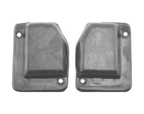 Daniel Carpenter Ford Mustang Quarter Post Seals - Rubber - Fastback C9ZZ-6328182