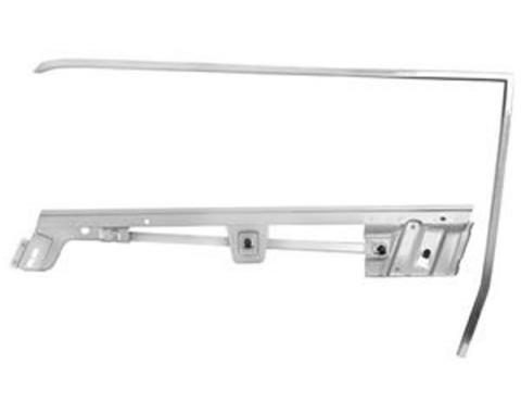 Door Glass Frame Kit / Left / Convertible