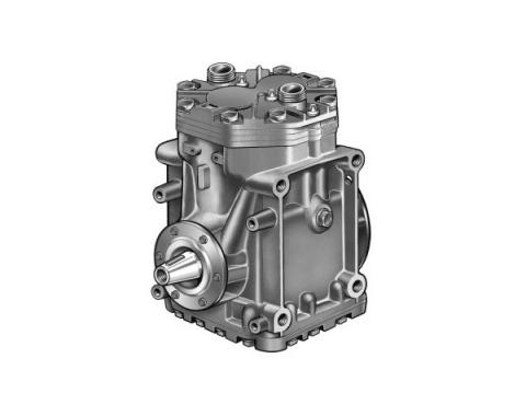 Ford Mustang Air Conditioner Compressor - Remanufactured - York - Factory Air