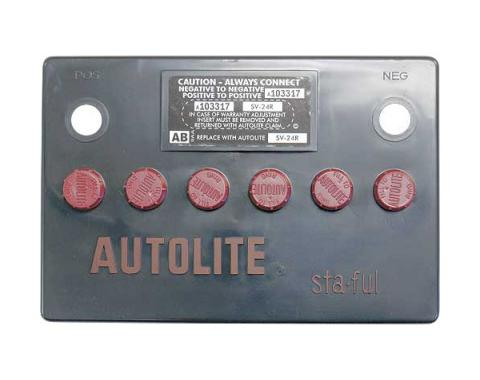 Autolite Sta-ful Battery Cover