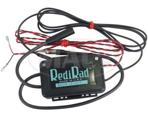RediRad for Mobile Device / Portable Music Source into Existing AM Only Radio