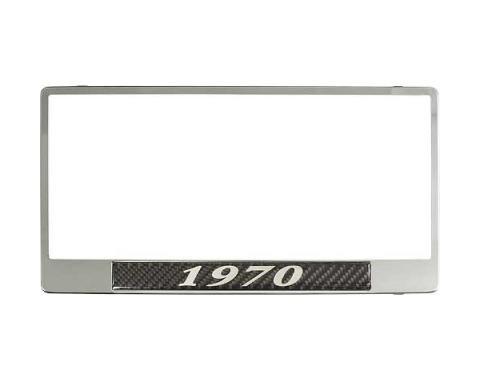 License Plate Frame - 1970