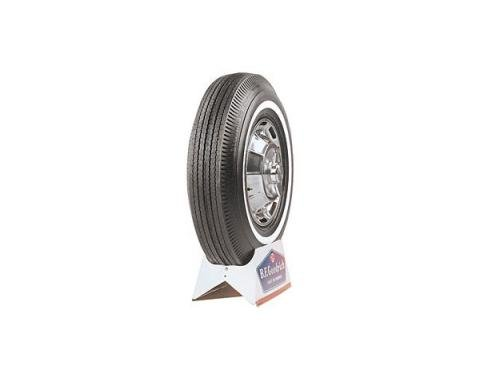 Tire - 735 x 14 - 1 Whitewall - BF Goodrich