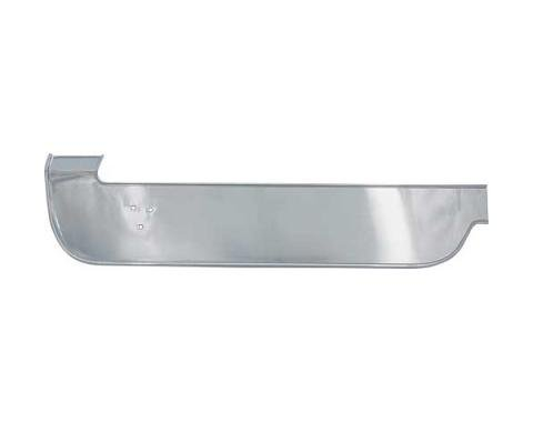 Ford Mustang Dash Trim Panel Base - Upper Right Above GloveBox - For Deluxe Interior