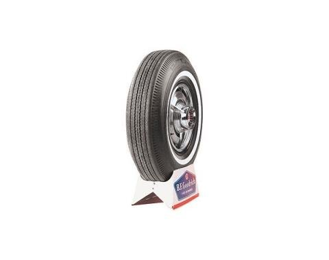 Tire - 695 x 14 - 5/8 Whitewall - BF Goodrich