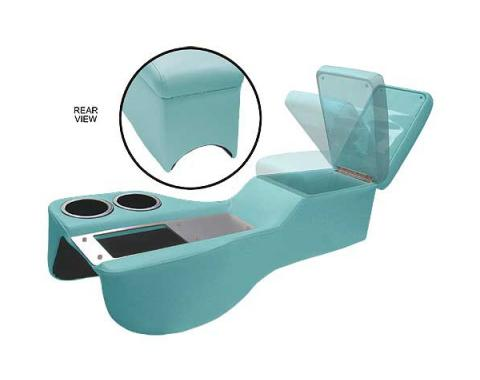 Ford Mustang Humphugger Cruiser Console - Coupe & Fastback - Turquoise
