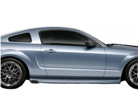 Ford Mustang Eleanor Style 2 Pc Poly Side Skirts 2005-09