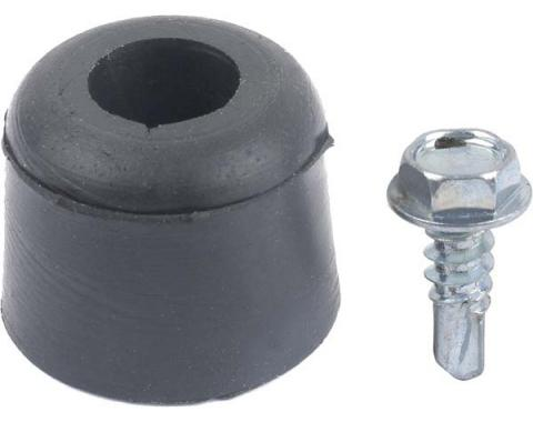 Daniel Carpenter Ford Mustang Firewall To Hood Bumpers - Screws Included - 3Pieces 380478-S3