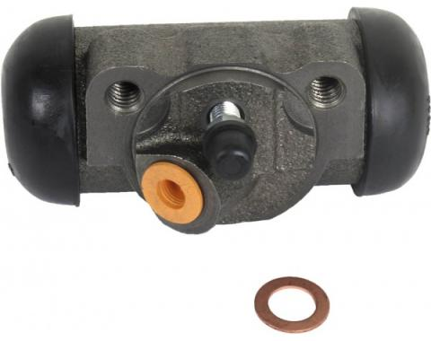 "Wheel Brake Cylinder, Left Front, V8 Engine, 1-3/32"" Bore, 1966-1971"