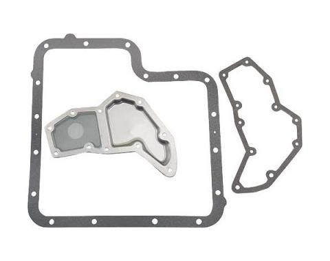 Ford Thunderbird Transmission Screen & Pan Gasket Kit, C6 Transmission, 1966